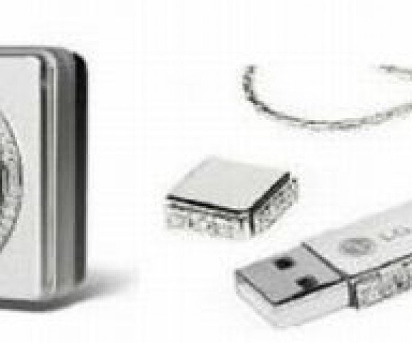 Bling This: Diamond-Studded Camera and Memory Stick