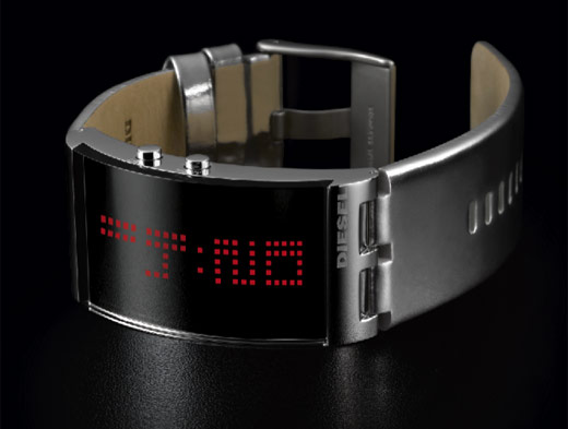 Diesel DZ7091 LED Mirrored Watch