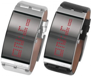 Diesel Scrolling LED Watch: It'S Done With Mirrors