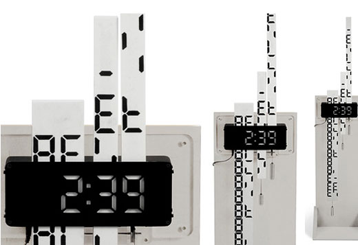 Digimech Clock by Duncan Shotton