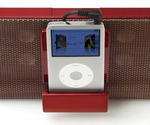 Eino iPod Dock is Perfectly Portable