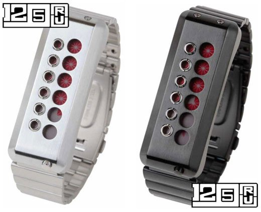 EleeNo Cyber LCD Watch Red Display