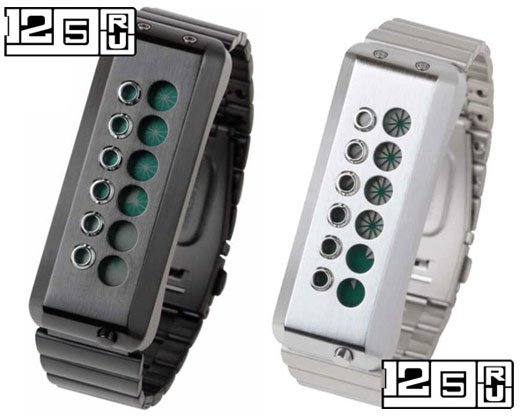 EleeNo Cyber LCD Watch Green