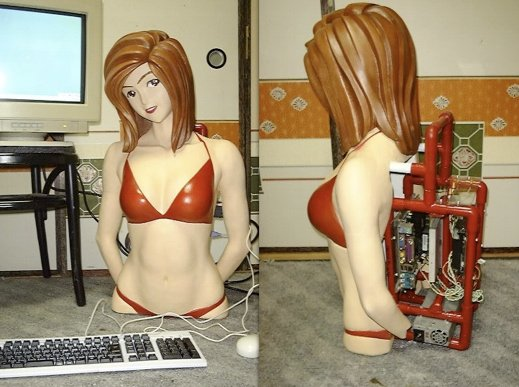 Anime girl casemod