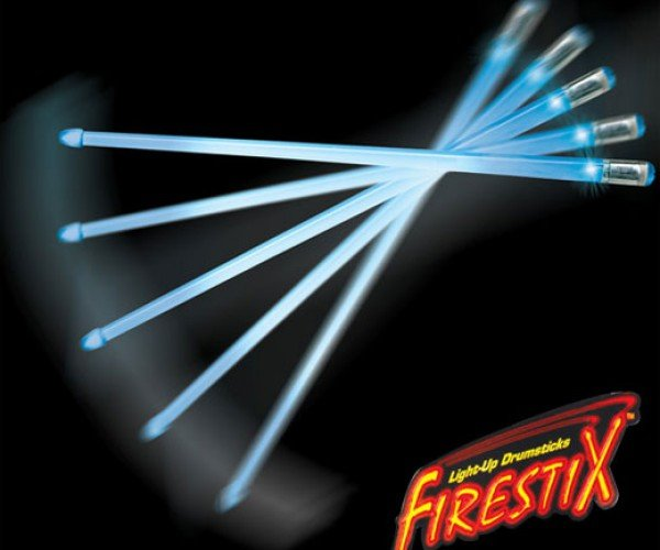 Firestix LED Drum Sticks: the Ultimate Rock Band Add-on