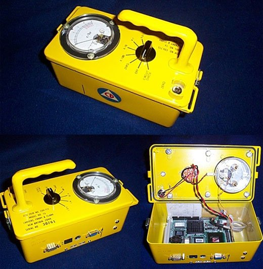 Geiger Counter Casemod