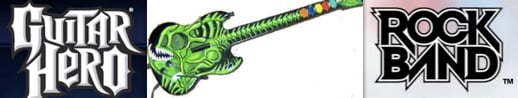 Guitar Hero paint job