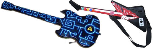 Guitar Hero custom paint jobs