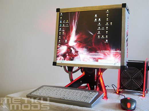 HyBred PC Casemod by Willek