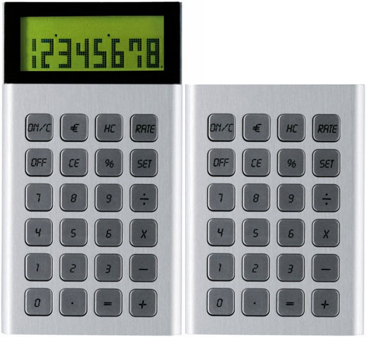 LEXON Jet Calculator Aluminum