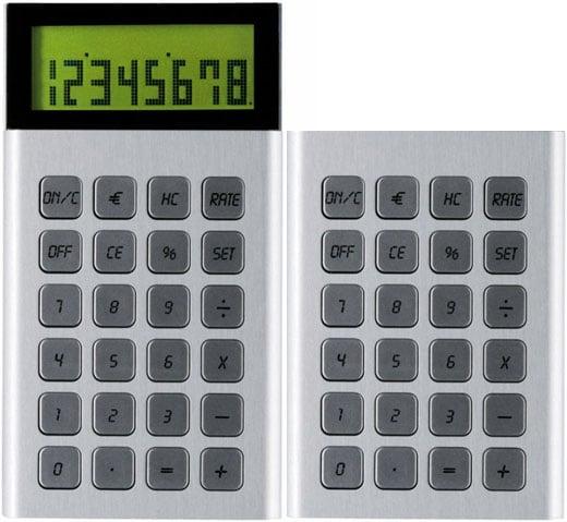 LEXON Jet Calculator Aluminum