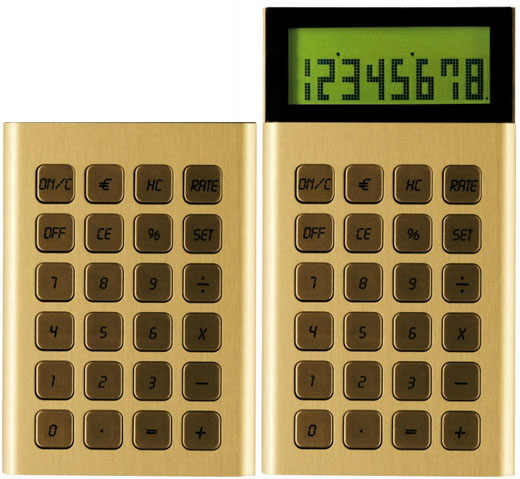 LEXON Jet Calculator Gold