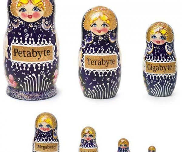 Art Lebedev'S Data Dolls Store Nothing but Themselves