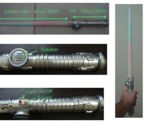 Make Your Own Custom Lightsaber!