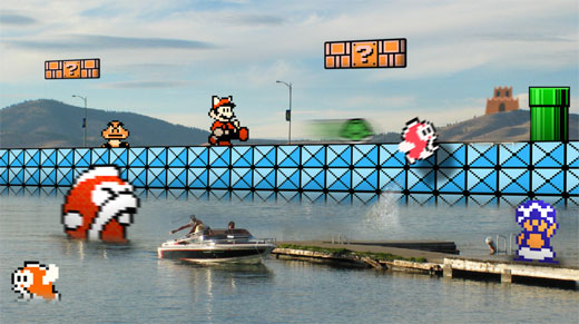 Mario Brothers 3 Pixel Art by Retronoob