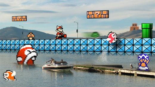 Mario Brothers 3 Pixel Art by Retronoob