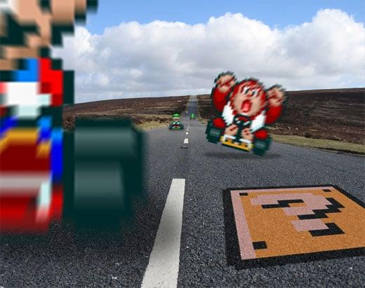Mario Kart RetroNoob Sprite Art