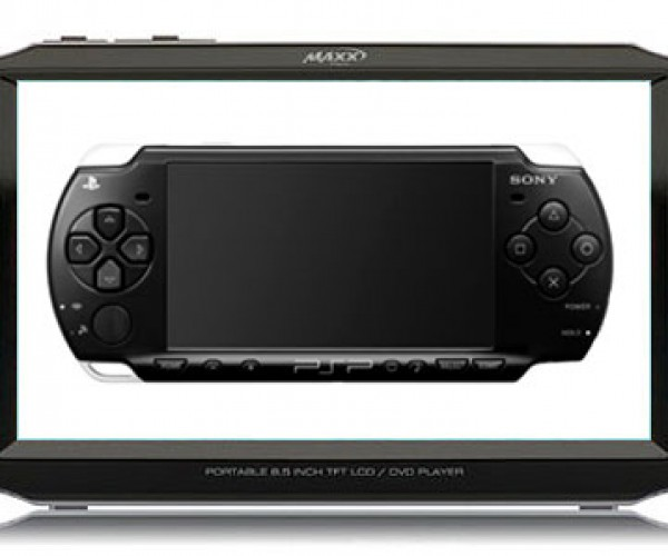Maxx Digital DVD Player Looks Just a Little Like Sony PSP