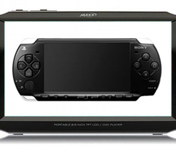 Maxx Digital DVD Player Looks Just a Little Like Sony PSP