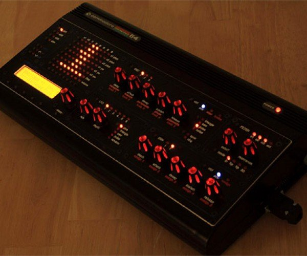 Midibox Sid: C64 Transformed Into Glowing Midi Synth