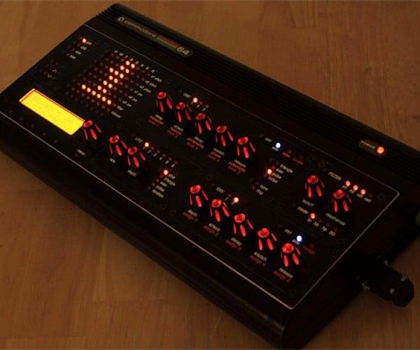 Midibox Sid: C64 Transformed Into Glowing Midi Synth