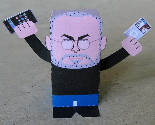 Paper Steve Jobs by Joe Chiang