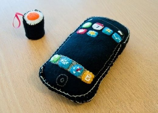 Plush iPhone by Kmila Rodz
