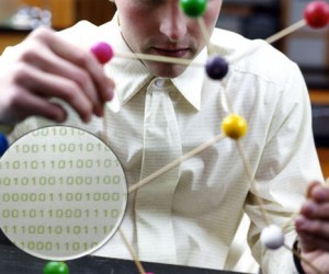 Rhombus Dress Shirt Hides Binary Code