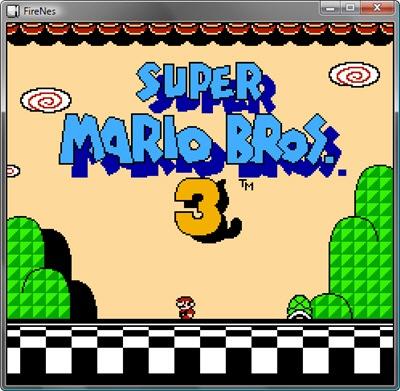 Super Mario Bros 3 in FireNes