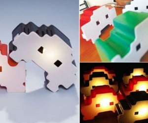 Space Intruderz Lamps Sure Look Like Invaders to Me