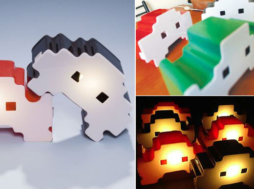 Space Intruderz Lamps by Unison Idea Studio