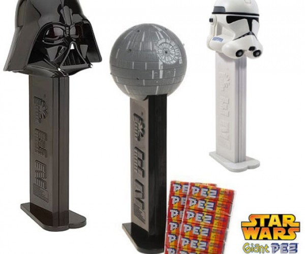 Star Wars Pez Dispensers Spew Candy From Big Heads
