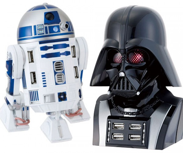 Star Wars USB Hubs: the Force is With Your Devices