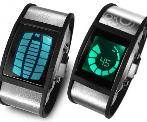Tokyoflash Nekura LED/LCD Watches Glow in Multiple Colors