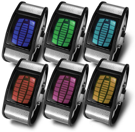 TokyoFlash Nekura Color LED/LCD Watch