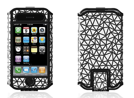 iPhone case with Zune logo