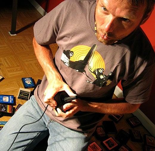 Atari 2600 T-shirt by psychoreindeer