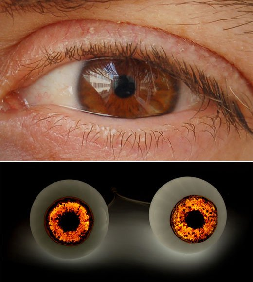 5.5 Designers Clone Eyeball Lamps