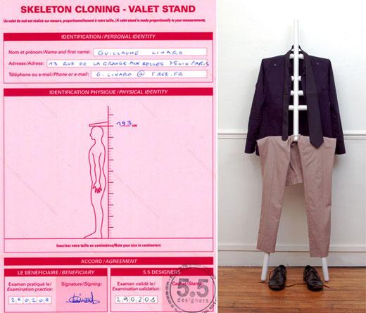 5.5 Designers Clone Skeleton Valet