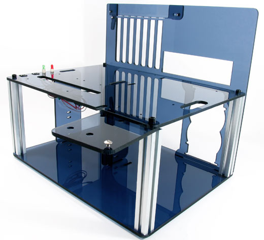 DC-ACPC3 Blue Acrylic PC Case