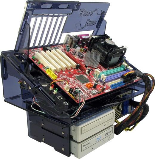 DC-ACPC4 Smoke Acrylic PC Case