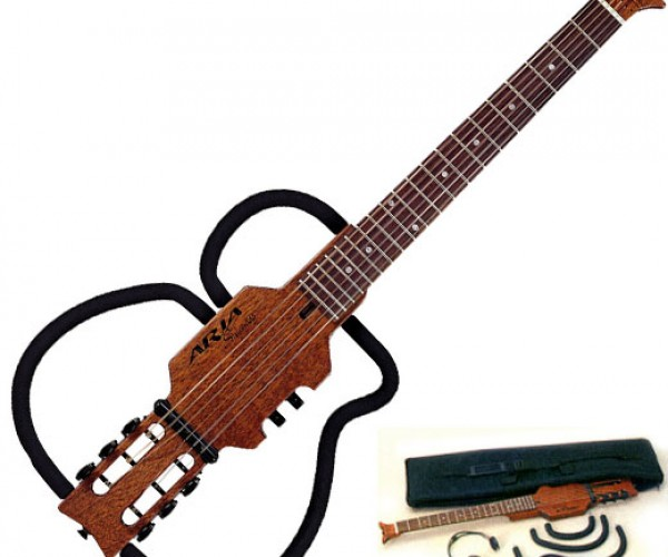 Aria Sinsonido Guitars Get Small for Travel