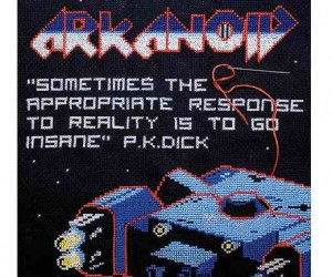 Arkanoid Cross Stitch More Fun Than Actually Playing Arkanoid