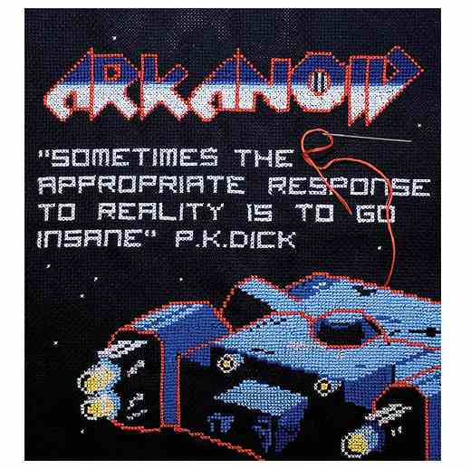 Arkanoid Cross-Stitch