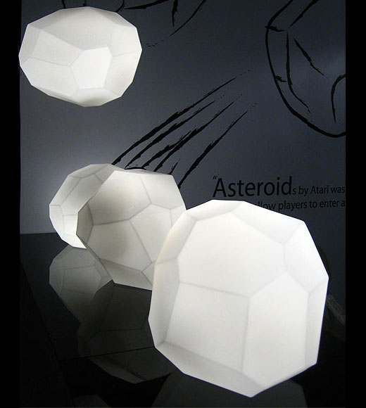 Asteroid Lamp by Innermost
