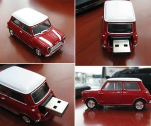 Mini Cooper USB Memory Even Smaller Than the Real Thing