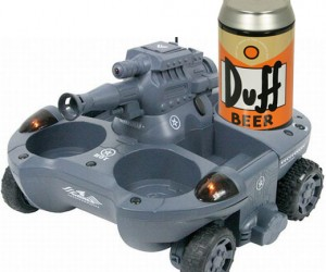 R/C Tank Delivers Beer and Bullets