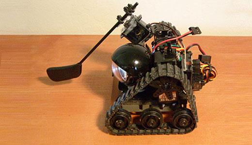 CrabFu Motionworks Putter Bot Golf Robot