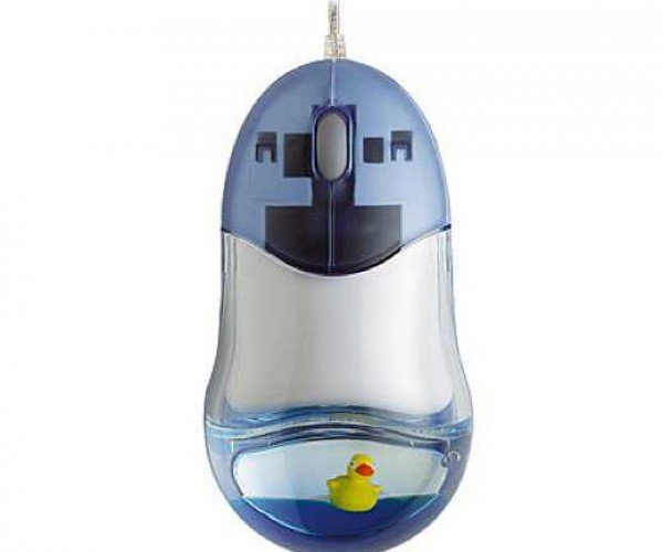 Rubber Ducky Mouse for Your Inner Bert or Ernie