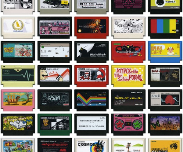 Famicase: Artists Make Up New NES Game Cartridges